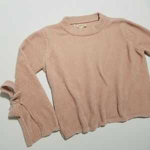 chenille sweater Anthro Cloth and Stone
